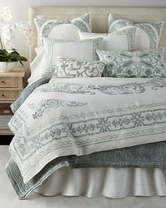 **$900.00  Aleksi+Bedding+by+Callisto+Home+at+Horchow.
