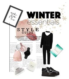"""""""•Brrrr•"""" by eliz-k-kt ❤ liked on Polyvore featuring George, STELLA McCARTNEY, Oliver Gal Artist Co., Boohoo, Lime Crime, CLUSE, MICHAEL Michael Kors, Americanflat and Kiehl's"""