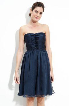ML Monique Lhuillier Bridesmaids Iridescent Chiffon Dress (Nordstrom Exclusive)