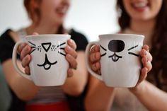 Idea for best friend mugs!
