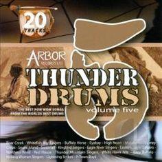 Thunder Drums, Vol. 5 - CD. National Aboriginal Day, All Locations, Thunder, Drums, Percussion, Drum, Drum Kit