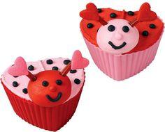 Lovebugs Cupcakes