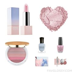 Cosmetics Recipe Featuring Sephora Collection Lipstick Matte Eye Shadow Isaac Mizrahi Makeup And Pastel Nail Polish From January 2016 #beauty #makeup