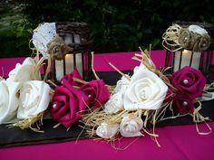 Bevállalós esküvődekor Eper-csoki-vanília.