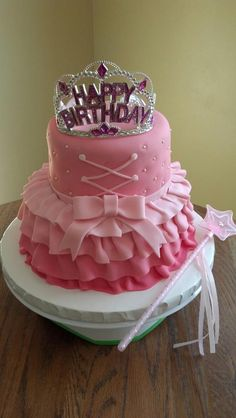 Ballerina Princess Cake  - The Bakery at Elkmont 2012