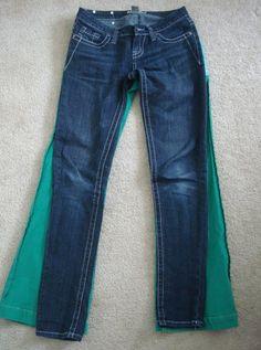 diy: flare to skinny jeans