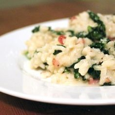 KALE AND PANCETTA RISOTTO http://www.thedailymeal.com/kale-and-pancetta-risotto