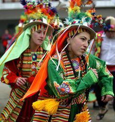 Chileans in traditional costumes, dance during the annual celebration and pilgrimage of San Pedro in Valparaiso.