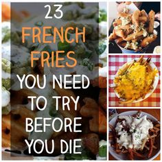 23 French Fries You Need To Eat Before You Die