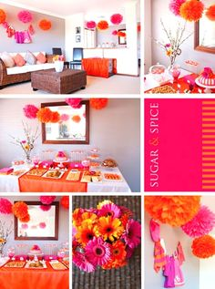 Unique Girl Baby Shower Themes 6