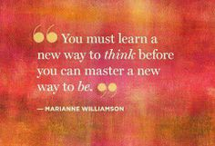 Open your minds & hearts to new experiences & learning. Variety is the spice of life. :)
