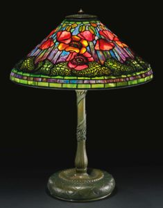 Lamps on Pinterest  Tiffany Stained Glass, Tiffany Table Lamps ...