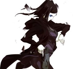 RE I Mayer character from the dark Japanese Anime Ergo Proxy, #Goth girl animated loveliness