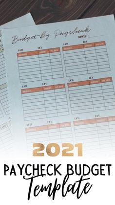 If youre living paycheck to paycheck, you need a budgeting method that works for you. This paycheck budget template allows you to break down your budget by pay period so its easier to follow! #paychecktopaycheck #budgeting #monthlybudgettemplate Monthly Budget Template, Monthly Budget Planner, Budget Spreadsheet, Budget Sheets, Sign Up Page, Budget Organization, Making A Budget, Budgeting Worksheets, Planner Inserts