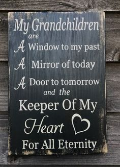 grandparents sign grandchildren sign inspirational gift for grandparents primitive rustic sign gift for grandparents farmhouse sign Love Quotes Grandma Quotes, Mom Quotes, Sign Quotes, Family Quotes, Great Quotes, Cousin Quotes, Daughter Quotes, Father Daughter, Signs With Sayings