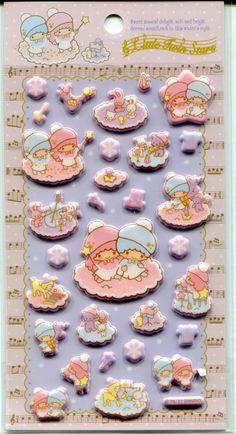 【2011】Stickers ★Little Twin Stars★