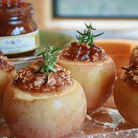 Earth & Vine Provisions Autumn Baked Apples Recipe