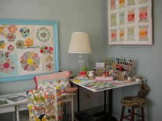 @ A Quilting Life: Sewing room