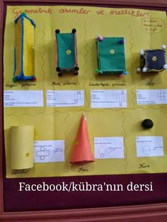 Kübra'nın dersi: GEOMETRİK CİSİMLER