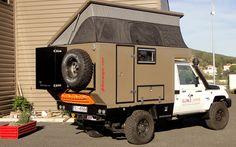 Medium Confort off-road cabines - Globe Camper