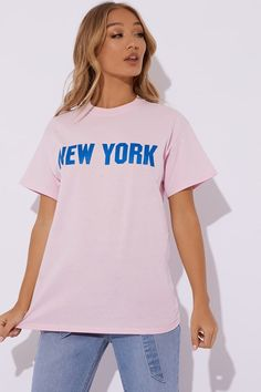 e7d2b5f520 Womens Collegiate T-Shirt By Tommy Jeans - Pink in 2019