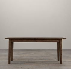 1900s Boulangerie Dining Tables by Restoration Hardware. Crafted from reclaimed 30-year-old pine scaffolding in Great Britain.