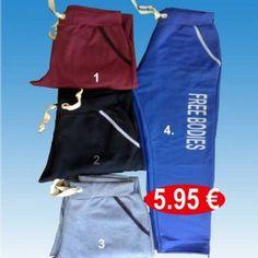 7b53fa361e4a Ανδρικά παντελόνια φούτερ βαμβακερά σε 4 διάφορα χρώματα ΜΕΓΕΘΗ M ω...  Φόρμες