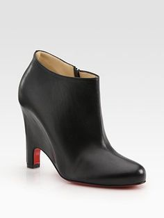 love the concealed heel on these CL ankle boots
