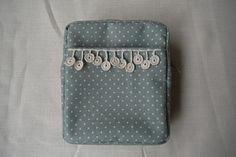 linen pouch by prunus, via Flickr