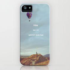 So precious... so true! <3   Waltz for Ellie iPhone Case by  Maʁϟ & The Moon - $35.00
