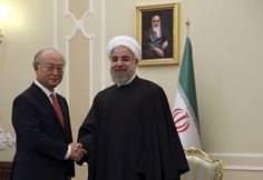 UN ACCEPTS SAMPLES FROM IRAN ON IT'S SELF-INSPECTION OF NUCLEAR FACILITY - The International Atomic Energy Agency is sticking to its secret agreement with Iran to allow it to monitor its own nuclear program.
