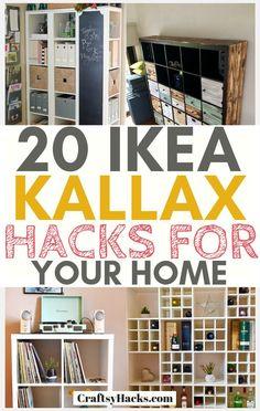 Ikea Kallax Hack, Kallax Shelf, Ikea Bed Hack, Ikea Furniture Hacks, Furniture Makeover, Ikea Hacks, Furniture Market, Furniture Showroom, Refurbished Furniture