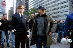Leonardo DiCaprio and Steven Spielberg in Catch Me If You Can (2002)