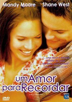 """""""Um Amor para Recordar"""" (A Walk to Remember - 2003). Nunca vou esquecer a emoção de assistir esse filme. Lindo."""
