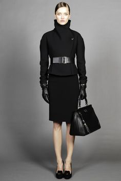 Gucci Pre-Fall 2012 - as much as I love color.....  I still like this.