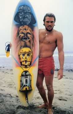 This week's throwback features iconic surfer Greg Mungall showing off his custom Star Wars-themed surfboard while sporting his Katin trunks. Greg won the Katin Team Challenge in Huntington Beach in 1979, beating out world champions Peter Townend and Wayne Bartholomew.