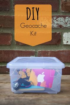 Make a geocache kit: perfect for gift-giving or for geocaching newbies.