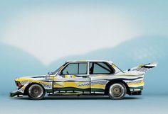 BMW Art Cars in Manhattan | YatzerBMW 320i group 5 racing version, Roy Lichtenstein, Art Car, 1977