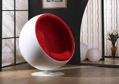 Modern Eero Aarnio Ball Chair Red