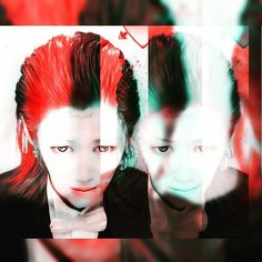 WEBSTA @ r890_yackn - 表と裏。#me #Photoshop #printclub  #selfie  #red #green #joker #suicidésquad  #harleyquinn  #White #fashion #double #cosplay  #marvel  #darknight #j #cool #japan #tokyo #boy #japanese #japaneseboy #shibuya #お家なう #pierce #bodypierce #クロムハーツ #chromehearts #マニパニ #マニックパニック