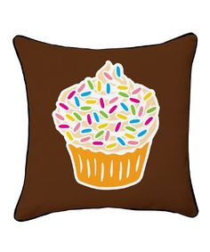 Forever Cupcakes Double-Sided Throw Pillow