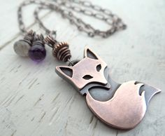 Eclectic Fox Necklace