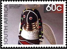 Stamp: Beadwork angel (South Africa) (Beaded artwork) Mi:ZA 1995