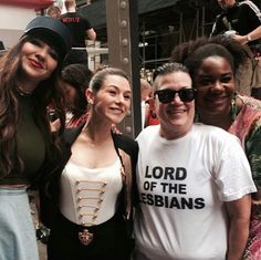 Orange is the New Black - Jackie Cruz, Yael Stone, Lea DeLaria, and Adrienne C. Moore