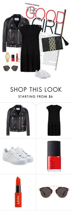 """GOOD Girl"" by neat-to ❤ liked on Polyvore featuring Acne Studios, MuuBaa, adidas Originals, NARS Cosmetics, Christian Dior and Michael Kors"