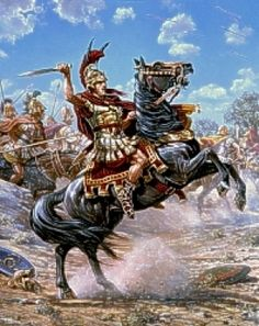 Find Military Art for You to Enjoy! + Ancient History Military battles art prints, Roman, Greek History, Alexander The Great & more. Prepare for battle! Greek Warrior, Viking Warrior, Alexander The Great, Alexandre Le Grand, Greek Art, Historical Art, Military Art, Ancient Romans, Horse Art
