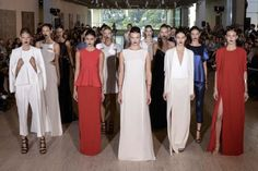 See the entire collection. Lisa Ho, Bridesmaid Dresses, Wedding Dresses, View Photos, Ready To Wear, Chic, How To Wear, Collection, Fashion