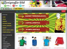 Screen printing, digital, pad printing in Rome