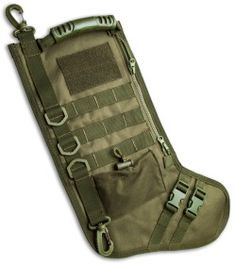 Tactical Christmas Stocking Deluxe Molle Elite Version (available in OD Green and Coyote Tan) at Blade HQ!