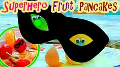 🍅 Superhero Fruit Pancakes  🍏 Let's cook with Funny Fru! 😃
